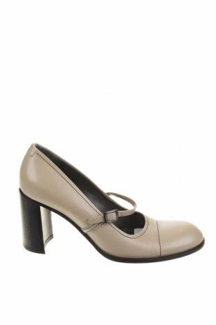 Дамски обувки Joop!, Размер 37, Цвят Сив, Естествена кожа, Цена 92,82лв.