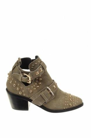Γυναικεία παπούτσια Kurt Geiger, Μέγεθος 38, Χρώμα Πράσινο, Φυσικό σουέτ, Τιμή 41,31€