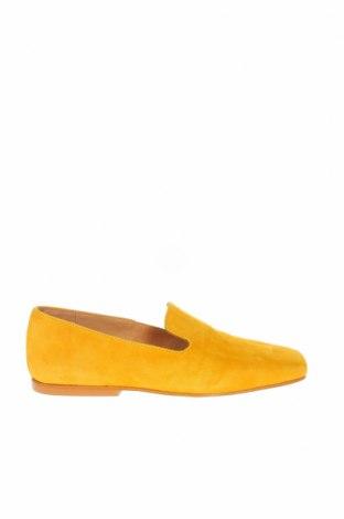 Γυναικεία παπούτσια L'intervalle, Μέγεθος 36, Χρώμα Κίτρινο, Φυσικό σουέτ, Τιμή 26,38€