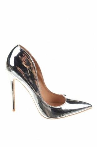 Дамски обувки Lost Ink, Размер 40, Цвят Сребрист, Еко кожа, Цена 15,87лв.