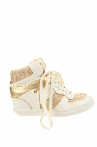 Дамски обувки MICHAEL Michael Kors, Размер 40, Цвят Бял, Естествена кожа, текстил, Цена 132,62лв.