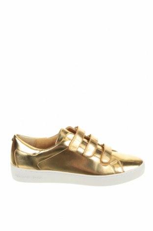 Дамски обувки MICHAEL Michael Kors, Размер 40, Цвят Златист, Еко кожа, Цена 226,85лв.