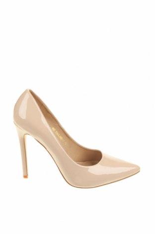 Γυναικεία παπούτσια Raid, Μέγεθος 38, Χρώμα  Μπέζ, Δερματίνη, Τιμή 19,56€