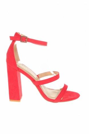 Дамски обувки Raid, Размер 41, Цвят Червен, Текстил, Цена 29,48лв.