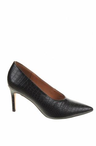 Дамски обувки Reserved, Размер 38, Цвят Черен, Еко кожа, Цена 28,56лв.