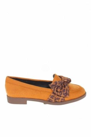 Γυναικεία παπούτσια River Island, Μέγεθος 36, Χρώμα  Μπέζ, Κλωστοϋφαντουργικά προϊόντα, Τιμή 17,07€