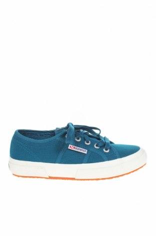 Дамски обувки Superga, Размер 35, Цвят Син, Текстил, Цена 44,50лв.