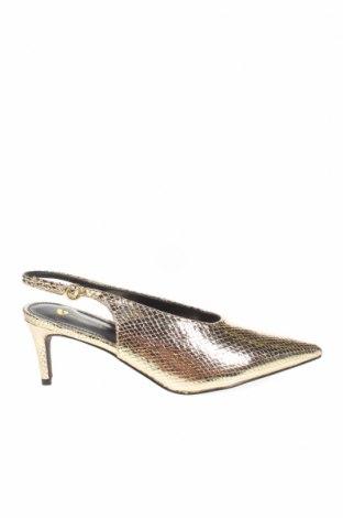 Дамски обувки V by Very, Размер 39, Цвят Златист, Еко кожа, Цена 51,75лв.