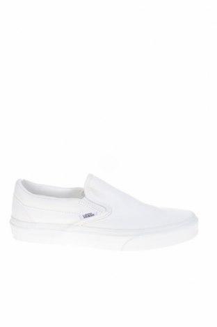 Γυναικεία παπούτσια Vans, Μέγεθος 38, Χρώμα Λευκό, Κλωστοϋφαντουργικά προϊόντα, Τιμή 33,33€