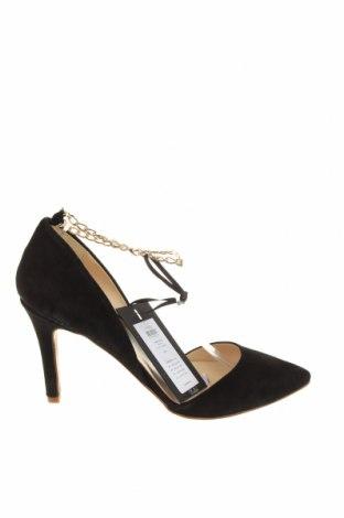 Дамски обувки Y.A.S, Размер 40, Цвят Черен, Естествен велур, Цена 32,80лв.