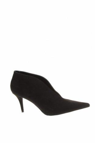 Дамски обувки Zara, Размер 41, Цвят Черен, Текстил, Цена 24,08лв.