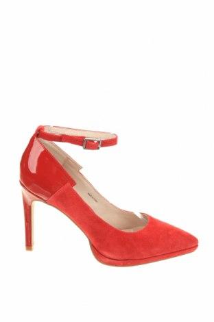 Γυναικεία παπούτσια Zign, Μέγεθος 37, Χρώμα Κόκκινο, Φυσικό σουέτ, Τιμή 39,89€