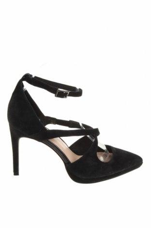 Дамски обувки Zign, Размер 39, Цвят Черен, Естествен велур, Цена 63,07лв.
