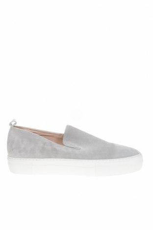Дамски обувки Zign, Размер 42, Цвят Сив, Естествен велур, Цена 64,66лв.