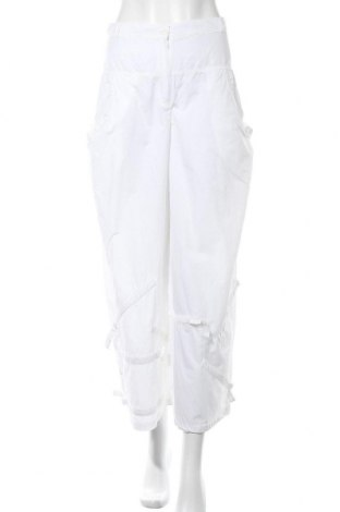 Дамски панталон, Размер S, Цвят Бял, 60% памук, 40% полиамид, Цена 7,09лв.