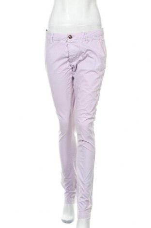 Дамски панталон Acne, Размер L, Цвят Розов, Памук, Цена 40,42лв.