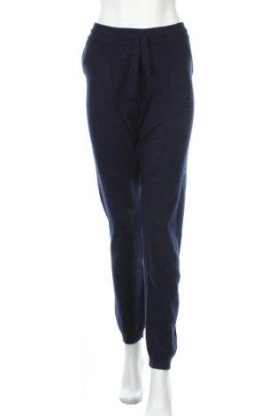 Дамски панталон Authentic Cashmere, Размер L, Цвят Син, Кашмир, Цена 269,00лв.