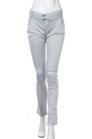 Дамски панталон Buena Vista, Размер M, Цвят Сив, 98% памук, 2% еластан, Цена 22,68лв.