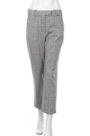 Дамски панталон Canda, Размер S, Цвят Многоцветен, 65% полиестер, 32% вискоза, 3% еластан, Цена 8,25лв.