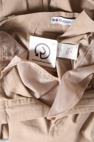 Дамски панталон Even&Odd, Размер S, Цвят Бежов, 33% лен, 32% вискоза, 25% полиестер, 10% памук, Цена 22,05лв.