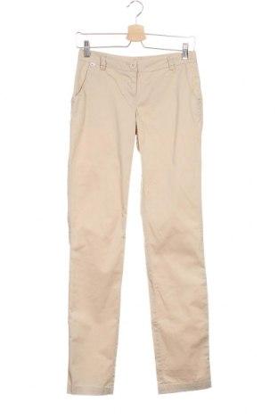 Дамски панталон Flg, Размер XS, Цвят Бежов, 97% памук, 3% еластан, Цена 7,35лв.