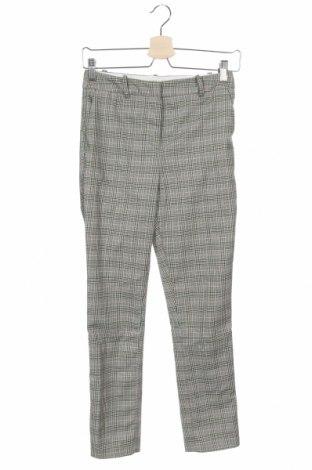 Дамски панталон H&M, Размер XS, Цвят Многоцветен, 87% полиестер, 10% вискоза, 3% еластан, Цена 7,63лв.