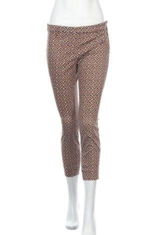 Дамски панталон H&M, Размер S, Цвят Многоцветен, 61% памук, 36% полиестер, 3% еластан, Цена 21,26лв.