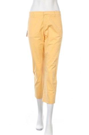 Дамски панталон Haikure, Размер S, Цвят Жълт, 96% памук, 4% еластан, Цена 44,52лв.