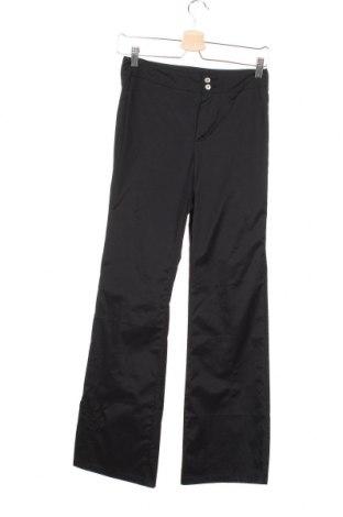 Дамски панталон IKKS, Размер S, Цвят Черен, 70% памук, 27% полиамид, 3% еластан, Цена 9,30лв.