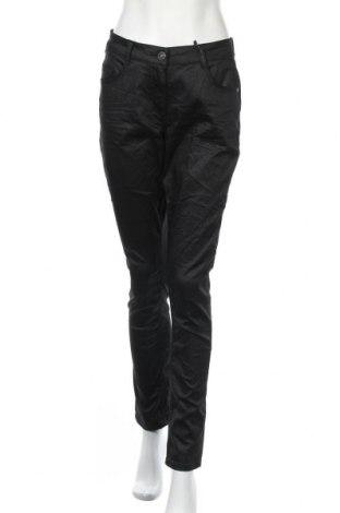 Дамски панталон Kenny S., Размер M, Цвят Черен, 65% памук, 30% полиестер, 5% еластан, Цена 33,08лв.