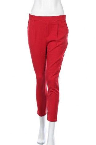 Γυναικείο παντελόνι Lefties, Μέγεθος S, Χρώμα Κόκκινο, 75% πολυεστέρας, 21% βισκόζη, 4% ελαστάνη, Τιμή 14,58€