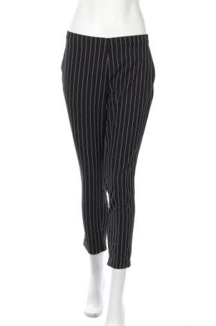 Дамски панталон Lefties, Размер S, Цвят Черен, 84% полиестер, 12% вискоза, 4% еластан, Цена 16,57лв.