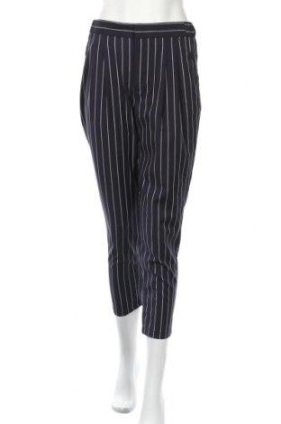Дамски панталон Lefties, Размер S, Цвят Син, 70% полиестер, 28% вискоза, 2% еластан, Цена 23,40лв.