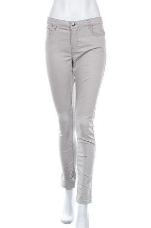 Дамски панталон Lh By La  Halle, Размер M, Цвят Бежов, 58% памук, 38% полиестер, 4% еластан, Цена 7,35лв.