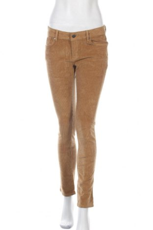 Дамски панталон Lois, Размер M, Цвят Жълт, 98% памук, еластан, Цена 33,28лв.