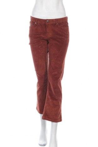 Дамски панталон Lois, Размер M, Цвят Оранжев, 98% памук, 2% еластан, Цена 35,39лв.