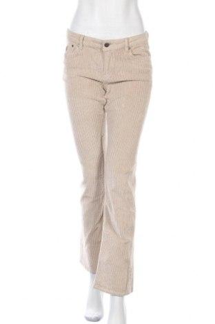 Дамски панталон Lois, Размер M, Цвят Бежов, 98% памук, 2% еластан, Цена 48,16лв.