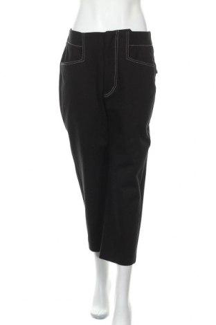 Дамски панталон Mango, Размер L, Цвят Черен, Памук, Цена 44,25лв.
