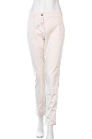 Дамски панталон Marc Cain, Размер M, Цвят Екрю, 98% памук, 2% еластан, Цена 31,89лв.