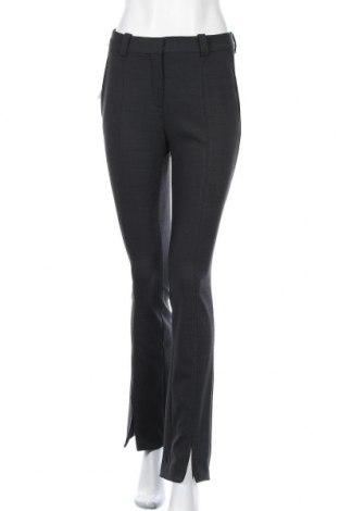 Γυναικείο παντελόνι Massimo Dutti, Μέγεθος S, Χρώμα Γκρί, 55% μαλλί, 41% πολυεστέρας, 4% ελαστάνη, Τιμή 19,95€