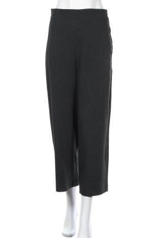 Pantaloni de femei Massimo Dutti, Mărime M, Culoare Verde, 67% viscoză, 29% poliester, 4% elastan, Preț 78,95 Lei