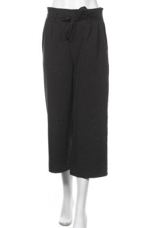 Дамски панталон Multiblu, Размер M, Цвят Черен, 95% полиестер, 5% еластан, Цена 18,11лв.