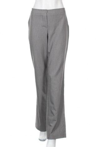Дамски панталон Nife, Размер L, Цвят Сив, 60% полиестер, 35% вискоза, 5% еластан, Цена 12,67лв.