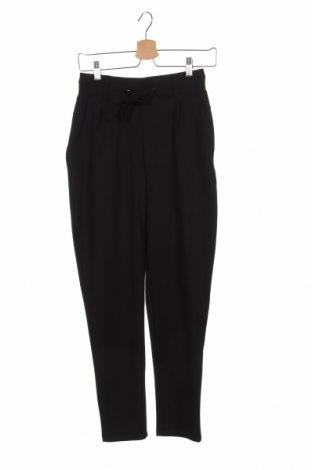 Дамски панталон ONLY, Размер XS, Цвят Черен, 77% полиестер, 19% вискоза, 4% еластан, Цена 29,12лв.