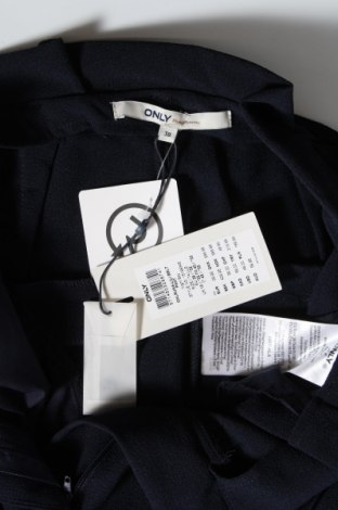 Дамски панталон ONLY, Размер M, Цвят Син, 97% полиестер, 3% еластан, Цена 16,22лв.