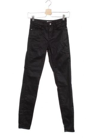 Дамски панталон Orsay, Размер XS, Цвят Черен, 66% памук, 30% полиестер, 4% еластан, Цена 7,20лв.