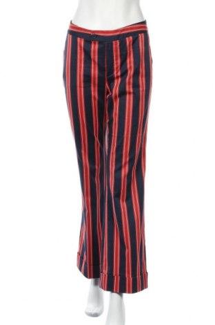 Дамски панталон Oui, Размер M, Цвят Многоцветен, 74% памук, 23% полиамид, 3% еластан, Цена 10,24лв.