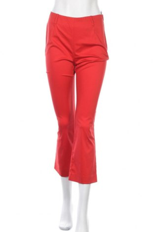 Дамски панталон Patrizia Pepe, Размер M, Цвят Червен, 75% памук, 20% полиамид, 5% еластан, Цена 20,30лв.