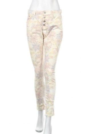 Дамски панталон Place du Jour, Размер S, Цвят Многоцветен, 97% памук, 3% еластан, Цена 7,04лв.