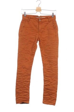 Pantaloni de femei Please, Mărime XS, Culoare Maro, 98% bumbac, 2% elastan, Preț 25,52 Lei